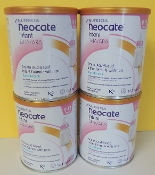4 cans (1 case) 14oz. Neocate INFANT with DHA/ARA  $154.50